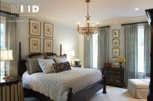 European Resort Master Bedroom Spa Blue Master NC