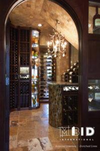 Greensboro Wine Cellar Design North Carolina